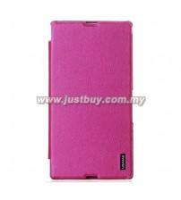 Sony Xperia Z Ultra USAMS Slim Flip Case - Pink
